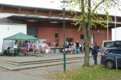 Standplätze vor der Stadthalle in Hohen Neuendorf